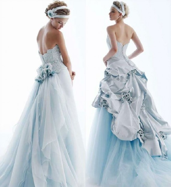 Colorful Wedding Dresses: Incorporating Color Into Your Wedding Dress